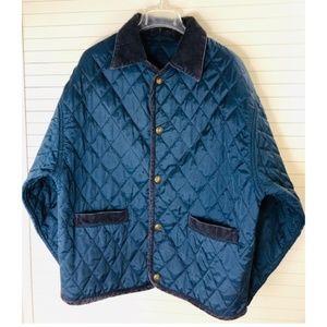 FOX RUN Women's Navy Blue Quilted Jacket